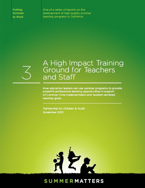A High Impact Training Ground for Teachers and Staff