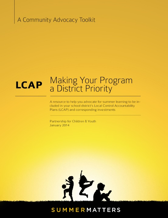 LCAP: Making Your Program a District Priority