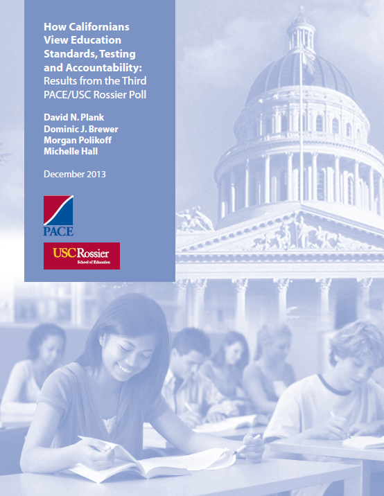 How Californians View Education Standards, Testing and Accountability
